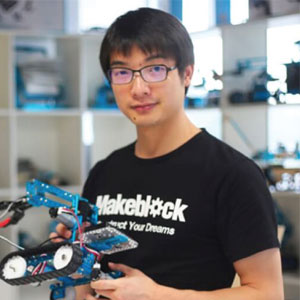 Jasen Wang, Founder and CEO, Makeblock