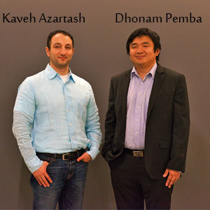 Kaveh Azartash, Ph.D., CEO and Dhonam Pemba, Chief Scientific Officer, KidSense.ai