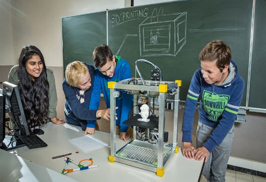 Konica Minolta Provides 3D Printers to Weehawken Public School Enabling a Well-equipped Lab for Students